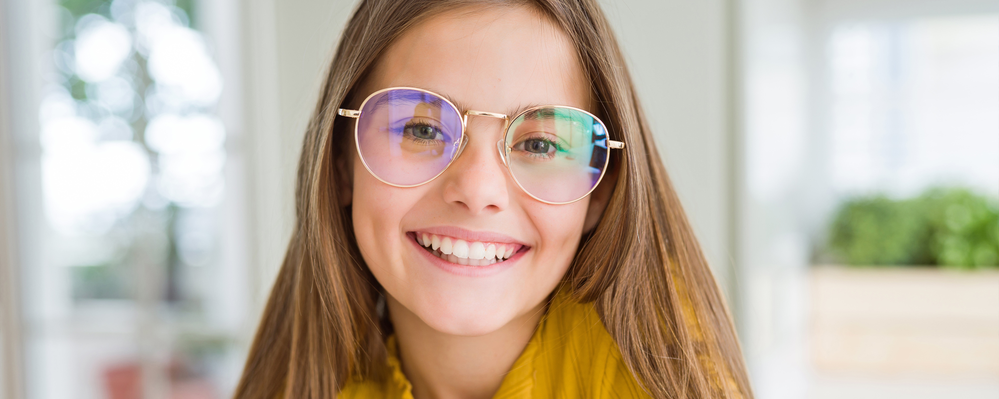 Glasögon på flicka - Ögonexperten