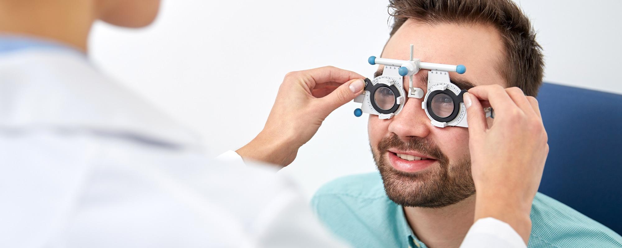 Synundersökning på Ögonexperten